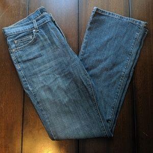 Calvin Klein high rise flare jeans
